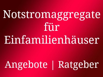 notstromaggregat f r einfamilienhaus notstromversorgung stromgenerator notstromaggregat. Black Bedroom Furniture Sets. Home Design Ideas