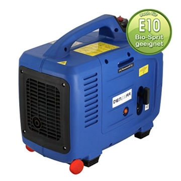 Denqbar 2,8 kW DQ2800ER Digitaler Inverter Stromaggregat benzin mit E-Start und Funk-3