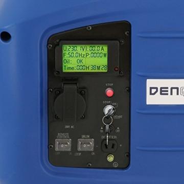 Denqbar 2,8 kW DQ2800ER Digitaler Inverter Stromaggregat benzin mit E-Start und Funk-4
