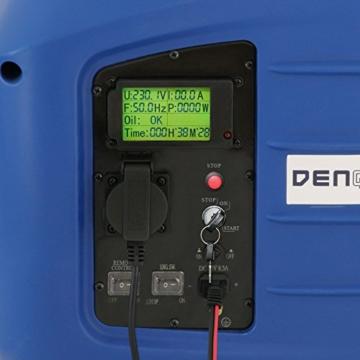 Denqbar 2,8 kW DQ2800ER Digitaler Inverter Stromaggregat benzin mit E-Start und Funk-5
