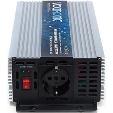 VOLTRONIC SINUS Spannungswandler 12V auf 230V 7 Varianten: 200 - 3000 Watt, e8 Norm-4