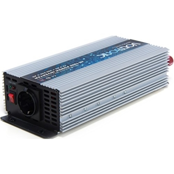 VOLTRONIC SINUS Spannungswandler 12V auf 230V 7 Varianten: 200 - 3000 Watt, e8 Norm-5