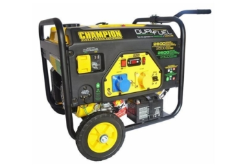 Champion Hybrid Duo 6500 Watt Benzin - 5500 Watt Gas Generator -2